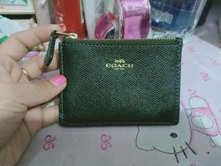 authentic coach coins purse wallet with card slots not mk,ks,dkny,lacoste