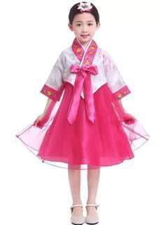 🚚 Korean Hanbok Korean Costume Girl Dress