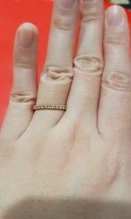 Diamonds Eternity in Rose Gold Ring For Sale