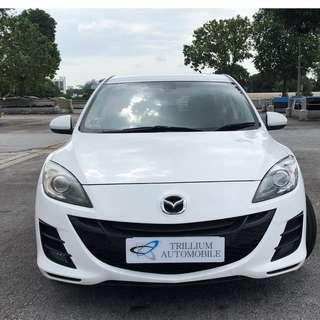 Mazda 3 1.6A for Rent from $45 daily!