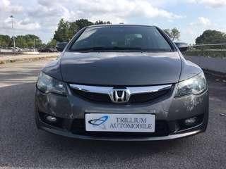 Honda Civic 1.8A from $45 Daily!