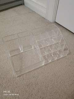 Clear Cosmetics Holder
