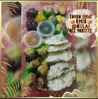 Homemade dimsum & dumpling