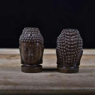 pajangan kepala buddha