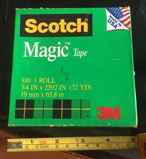 3M Scotch Tape, Large Size! New piece! Un-opened box! Made in🇺🇸USA!