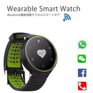 [ 全防水 ] 智能手錶 Smart Watch- WhatApp / WECHAT/Waterproof Fitness Tracker Heart Rate Monitor Pedometer
