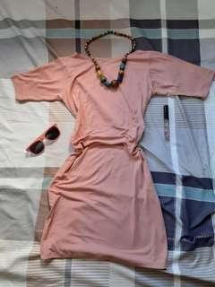Old rose pink casual Dress💗