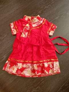 🚚 Baby Girl CNY Dress