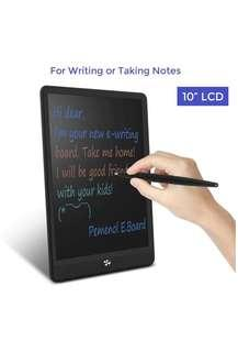 LCD E-Writing Tablet 10 Inch Colorful Electronic Write Board Doodle pad for Kids eWriter for Office Home
