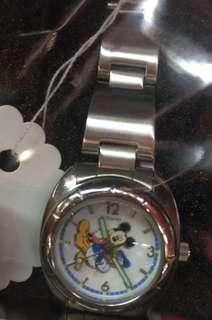 懷舊米奇唐老鴨手錶mickey&donald duck Watch