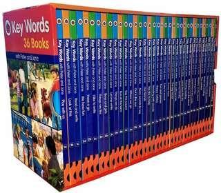 Peter & Jane - Ladybird key words collection 36 books box set