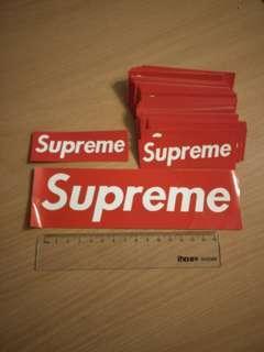 [Instocks] Supreme logo stickers
