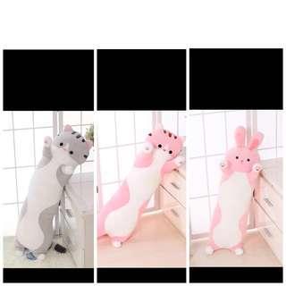[Instock] 70cm Animals Soft Toy Bolster
