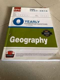 O Level Geography Ten Year Series