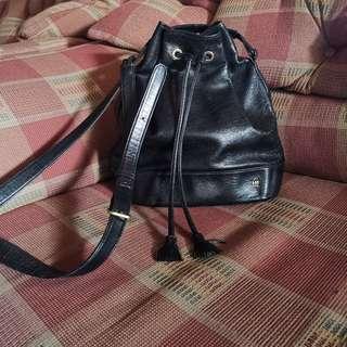 Hanae Mori Bucket Bag