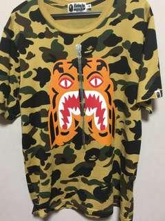 [STEAL] Bape Tiger Yellow Camo Tee