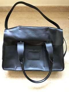 8825eeeb1f Genuine Black Leather Dr Martens Briefcase Bag