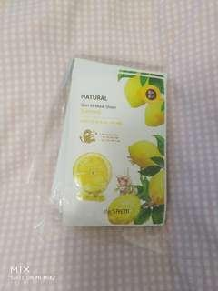 SAEM Korean Face Masks, 9 left