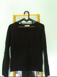 New Sweater Hitam