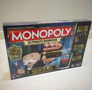 Free Delivery Brand New Monopoly Ultimate Banking Electronic
