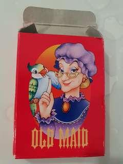 🚚 Vintage Old Maid playing cards