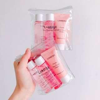 🚚 Brand New Laneige New Cleansing Trial Kit
