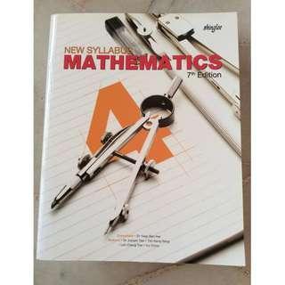 Shinglee Sec 4 Math textbook (7th edition)