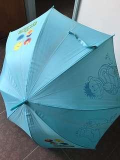 芝麻街雨傘