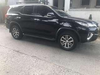 2016 toyota fortuner 4x4 automatic 2.8 diesel