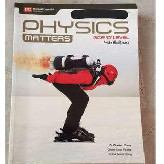 Physics Matters Olevel textbook(4th Edition)