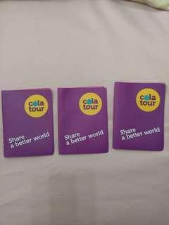 可樂旅遊 COLA TOURS 旅行社 護照 護照套 護照包 二手 證件套 證件包 紀念 收藏 收集 旅遊 出遊