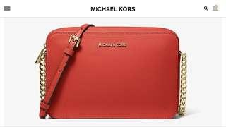 micheal kors jet set large saffiano leather crossbody