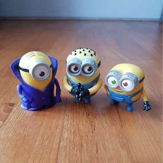 McDonald's x Minions Toy Figurines Collectables (for Young Children!!)