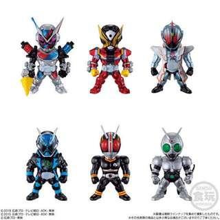 $95/盒 全新未開 Converge Kamen Rider Part 13 No 71 72 73 74 75 76  幪面超人 拉打 假面騎士 Geiz Ghost Specter BLACK 影月