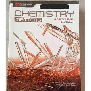 Chemistry Matters Olevel Textbook (4th Edition)