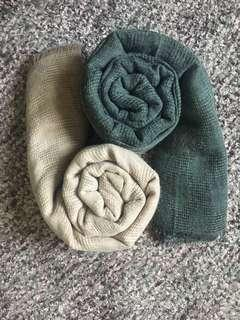 Cotton Wide Shawl
