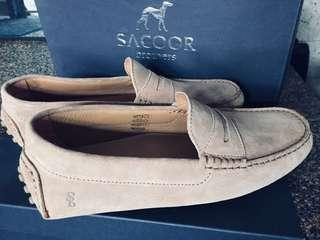Sacoor Brothers Genuine Italian Leather Drive Shoes