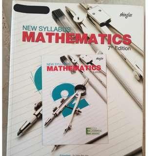 Shinglee Math Sec 2 Textbook (7th Edition)