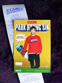 Park Hyung Sik Fun Meet Invites Lower Box