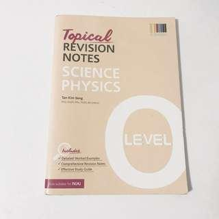 science physics tropical revision notes o level