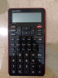 Sharp Financial Calculator EL 738F