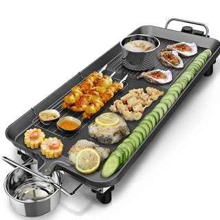 Electronic BBQ plate