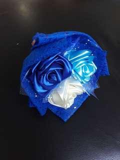 🚚 3 stalks Blue Roses Bouquet 15cm