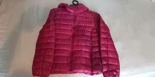 Winter down Jacket women quality uniqlo red