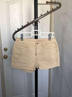 🚚 lativ 多色牛仔短褲 - 杏黃