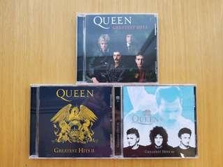 Queen Greatest Hit 3 cds Platinum Collection Freddie Mercury Bohemian Rhapsody