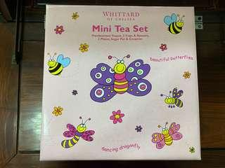 可愛小蝴蝶陶瓷茶具套裝