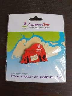 Olympic pin misprint - Youth Olympic Villoge Pin YOG