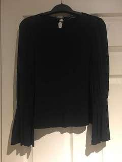 Club Monaco bell sleeve top