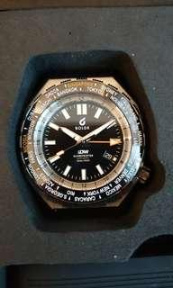 Boldr GMT Globetrotter Swiss 2893